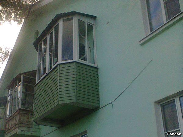 """Компания """"фараон"""" - остекление балконов и лоджий.ремонт балк."""